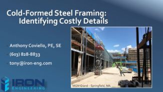 Cold-Formed Steel Framing: Identifying Costly Details